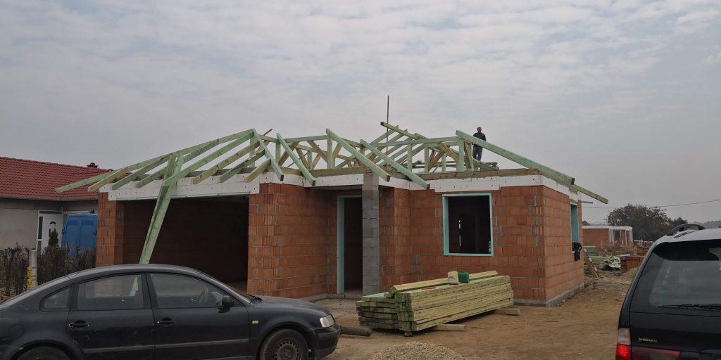 Építés, Födém, Tető
